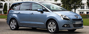 peugeot 5008 van family car