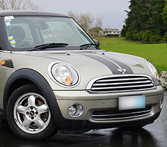 mini cooper summer roof rent a car