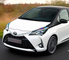 toyota yaris 2017 front view